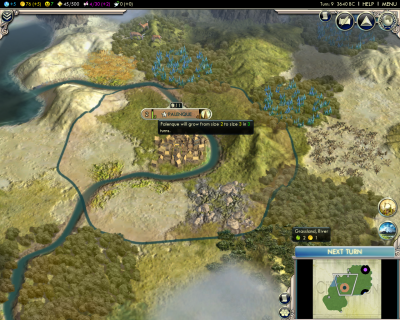 Civilization V: Start the journey