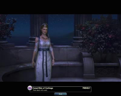 Civilization V: Dido of Carthage