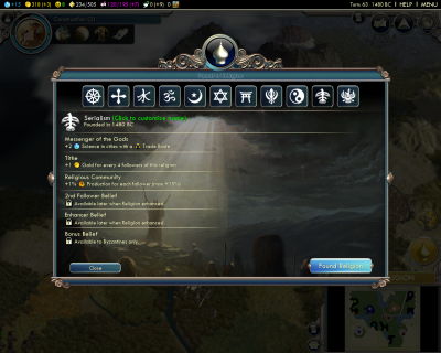 Civilization V: New Religion - Serialism