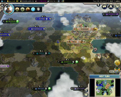 Civilization V: Early Middle Ages Strategic overview