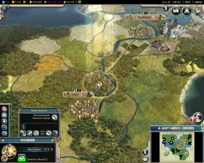 Civilization V: The Big King's Road