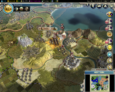 Civilization V: Doomed Second Hunnish Invasion