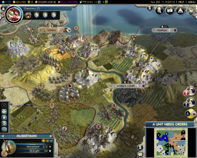 Civilization V: Invading The Huns