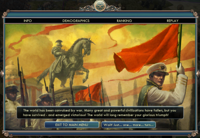 Civilization V: Mayan Domination Victory