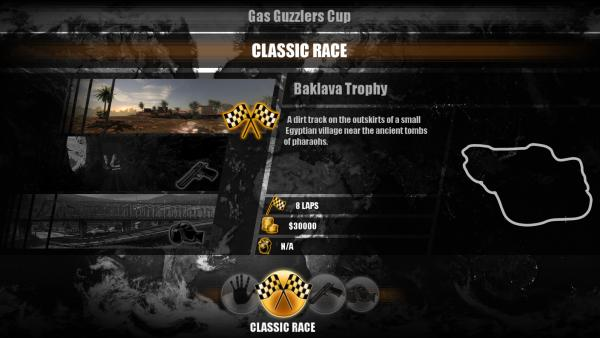 Gas Guzzlers Combat Carnage Baklava Trophy