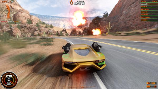 Gas Guzzlers Combat Carnage Gameplay